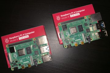 Raspberry Pi 4B 1GB & 4GB